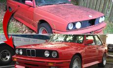 Han renoverade en skrotfärdig BMW M3 E30 – kolla in resultatet!