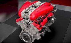 Ferrari visar motor och bakhjulsstyrning på nya F12tdf