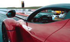 På dragstrippen: McLaren P1 mot LaFerrari och Porsche 918