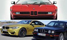 Vilken är din favorit bland de här BMW M-modellerna?
