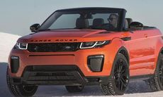 Officiell: Range Rover Evoque Convertible är en lyxkompaktsuvcabriolet