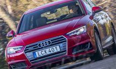 """Testlaget hyllar Audi A4: """"Riktigt tyst – även på svensk asfalt"""""""