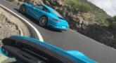 Häftig testrunda med nya Porsche 911