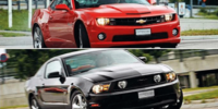 BEG: Ford Mustang mot Chevrolet Camaro