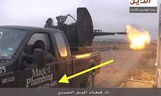 Rörmokarens pickup hamnade hos IS – fick tusentals hot