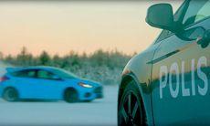 Ford önskar god jul med Snowkhana 4 – inspelad i Arvidsjaur