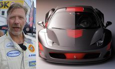Se Mikael Persbrandt bygga om sin Ferrari 458 Stazitto
