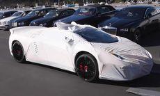 Se leveransen av en Lamborghini Aventador Super Veloce