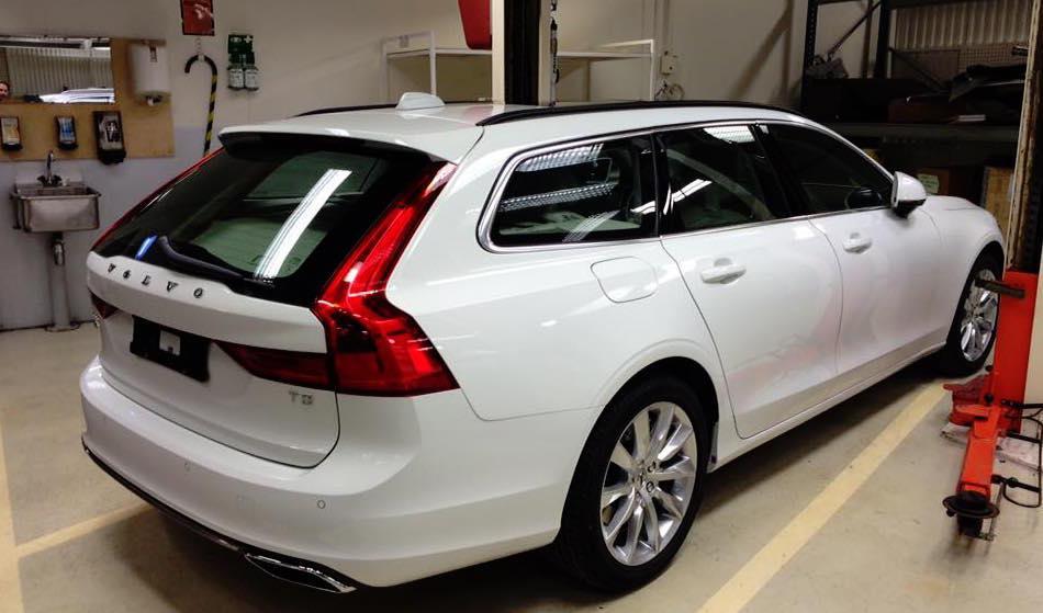 Bildläcka: Volvo V90 avslöjad – helt omaskerad - auto motor & sport