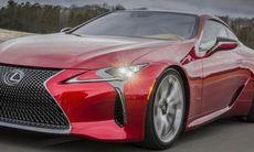 Lexus LC överraskar på Detroitsalongen – med sug-V8!