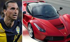Zlatan Ibrahimović köper en LaFerrari – betalar kontant