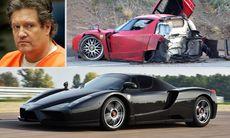 Tjock-Steffes Ferrari Enzo renoverad och till salu
