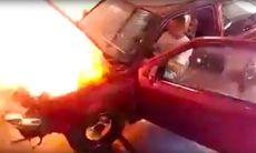 Tuningfirma ska trimma – men motorn exploderar i ett eldhav