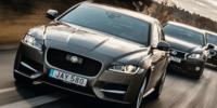 Test: BMW 520D, Jaguar XF 20D och Lexus GS 300h