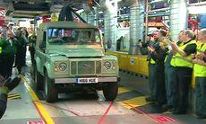 Land Rover Defender – legenden från Solihull blev 68 år gammal