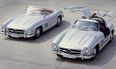 Två unika Mercedes 300 SL går till staten efter arvstvist