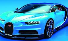 Officiell: Bugatti Chiron är både snabbare och lyxigare än Veyron