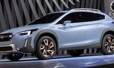 Subaru XV Concept visar nytt formspråk