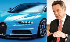 Bugatti Chiron kan följas av ny sedanmodell – men ingen suv