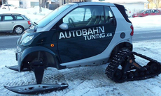 Den här Smartföraren tar vintern på allvar