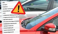 Svarta listan: Här är bilföretagen du ska undvika