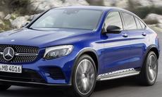 Mercedes GLC Coupé är den snygga utmanaren till BMW X4