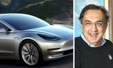 """Marchionne kan bygga Teslautmanare """"inom tolv månader"""""""
