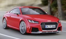 Audi TT RS Coupé och Roadster – nu med 400 hk ur turbofemman