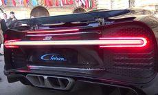 Lyssna på Bugatti Chiron – här ryter W16-motorn
