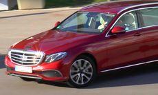 Mercedes E-klass kombi – spionfilm visar konkurrenten till Volvo V90
