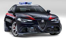Polisen gör snabba utryckningar med nya Alfa Giulia Quadrifoglio