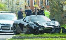 Svårslaget: kraschade ny McLaren 650S på mindre än tio minuter
