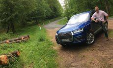 """Audi SQ7 provkörd: """"Sofistikerad, lyxig och mäktig"""""""