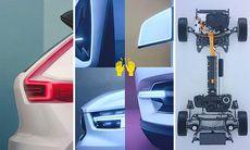 Fler bilder på nya Volvo V40 och XC40