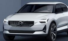 Volvos nya koncept visar nästa V40 – med eldrift