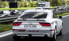 Audis självkörande bilar ska bete sig mer som människor