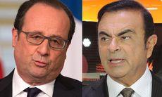 Franska presidenten vill sänka lönen för Renaultchefen