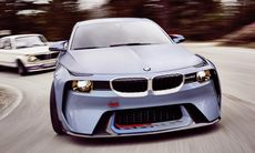BMW 2002 Hommage Concept hyllar den 50-åriga klassikern