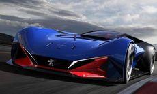 Peugeot L500 R Hybrid är framtidens superläckra hybridracebil