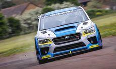 Rallyförare slog rekord på Isle of Man med Subaru WRX STI