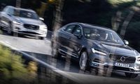 Provkörda: Volvo S90 och Volvo V90