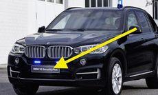 Automatvapen rår inte på bepansrad BMW X5 Security Plus