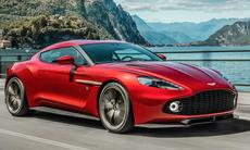 Bildspecial: Aston Martin Vanquish Zagato ska byggas i 99 exemplar