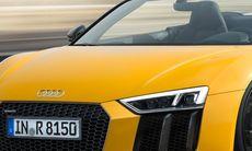 Svenskt pris och säljstart för Audi R8 Spyder