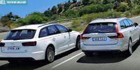 PROV: Volvo V90 mot Audi A6 Avant