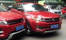 Range Rover Evoque krockar med kinesisk kopia – ljuv hämnd?
