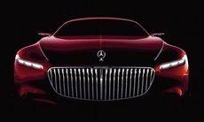 Mercedes-Maybach visar jättelik coupémodell – med BMW-grill?