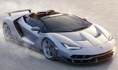 Lamborghini Centenario Roadster: 770 hk, svindyr och redan slutsåld
