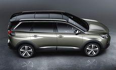 Nya Peugeot 5008 – familjebussen har blivit sjusits suv