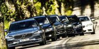 TEST: Volvo V90, Audi A6, BMW 5, Mercedes E, VW Passat, Volvo V70